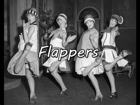picsof flappers history brief flappers youtube