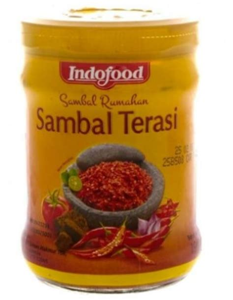 Indofood Sambal Hijau 200g sambal terasi indofood balacan relish citra sukses