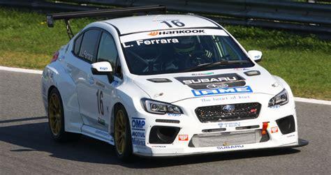 best motors ferrara top run motorsport enter subaru for luigi in dubai