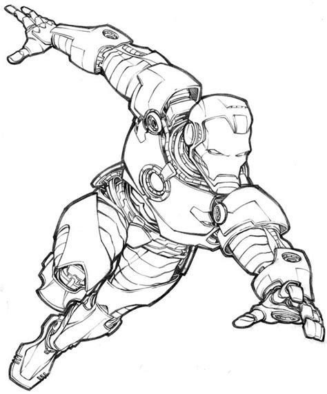 baby iron man coloring pages iron man by jeremy bear comic books art pinterest