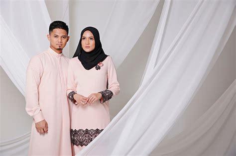 design baju hanis zalikha his her raya collection 2016 by hairul azreen and hanis