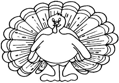 Preschool Printable Thanksgiving Coloring Pages