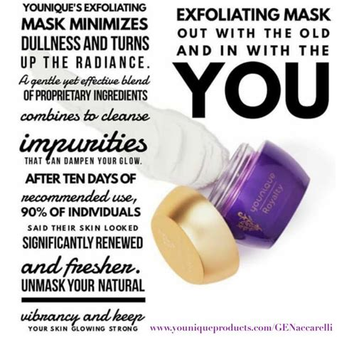 Exfoliating Masks by Younique Exfoliating Mask Available Sept 1st Younique