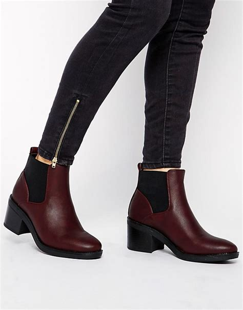 Coach Chelsea Matte Black Sz 6cm new look new look elmo block heel chelsea boots