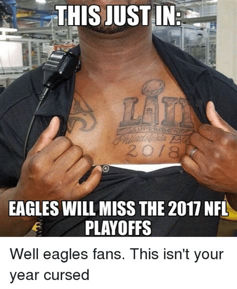 Eagles Memes - this justin per bow eagles will miss the 20 nfl e playoffs