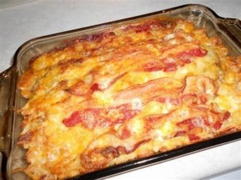 recipetips now hamburger casserole keto recipe bacon cheeseburger casserole