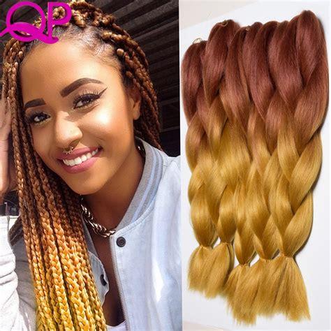two tone hair for senegalese popular blonde xpression braiding hair buy cheap blonde