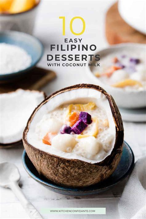 easy filipino desserts  coconut milk kitchen