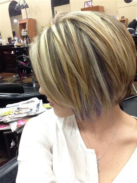 hair cut hair streax with hair short hair with purple streaks i love this subtle pop of