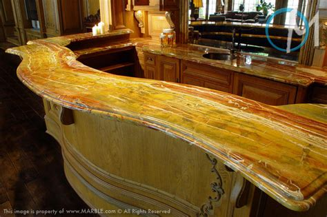 stone bar tops bar top diaspro onyx marble com contemporary home