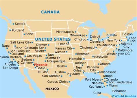 united states map arizona maps and orientation arizona az usa