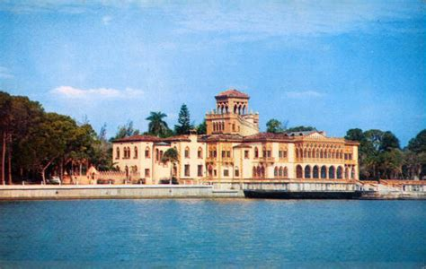 Florida Memory John Ringling Mansion Sarasota Florida The Ringling House Sarasota Fl