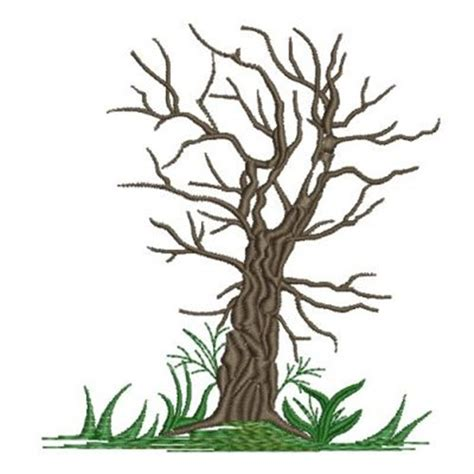 free coloring pages of leafless tree