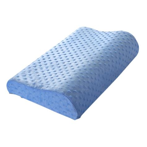 Sleep Innovations Cool Contour Pillow by Memory Foam Standard Size Bed Pillow Sleep Contour