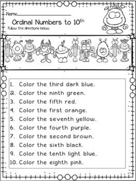 new year story ordinal numbers 17 best ideas about ordinal numbers on