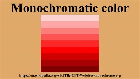 what is monochromatic color monochromatic color