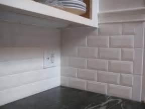 beveled subway tile backsplash beveled subway tile backsplash kitchen