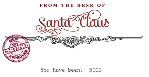 from the desk of santa claus santa claus stationary free printable via your golden