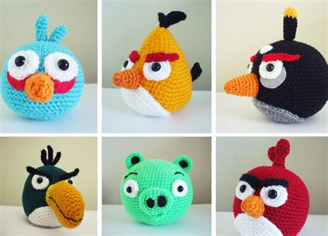free pattern amigurumi angry birds angry birds crochet patterns free amigurumi