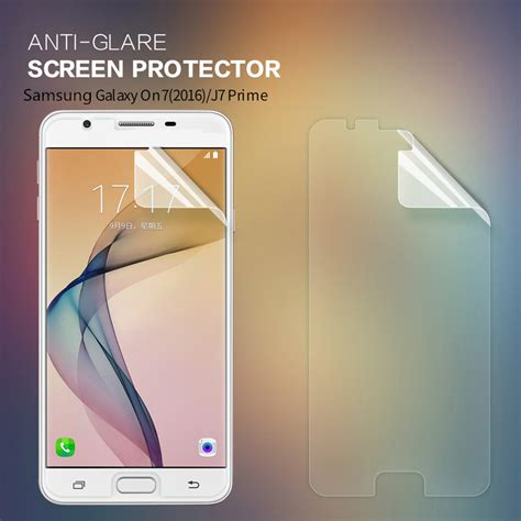 Samsung Galaxy J1 Nillkin Anti Glare Screen Protector nillkin matte anti radiation anti glare screen protector for samsung galaxy on7 2016 sale