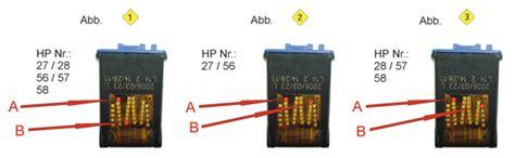 resetter hp f2180 anleitung zum resetten der hp patronen 56 57 58