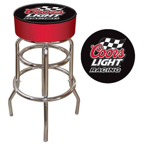 Coors Light Padded Bar Stool by Coors Light Racing Logo Padded Bar Stool