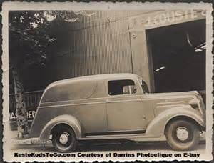 1937 Chevrolet Panel Truck 1937 Chevrolet Panel Truck Resto Rods To Go