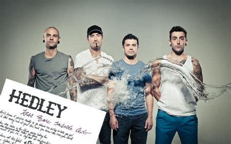 How Hedley Did A hedley s handwritten lyrics to quot you inside out