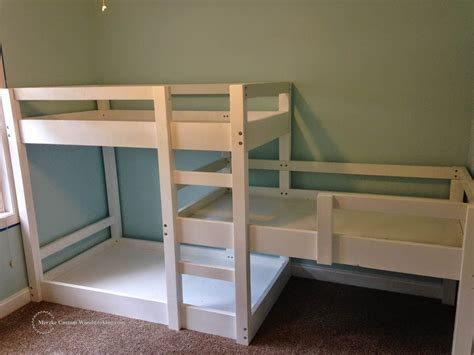 bedrooms and more triple bunk bed pinteres