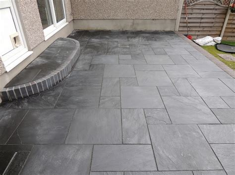 Design For Outdoor Slate Tile Ideas Slate Patio Tiles Best Outdoor Flooring Flooring Ideas Floor Design Trends