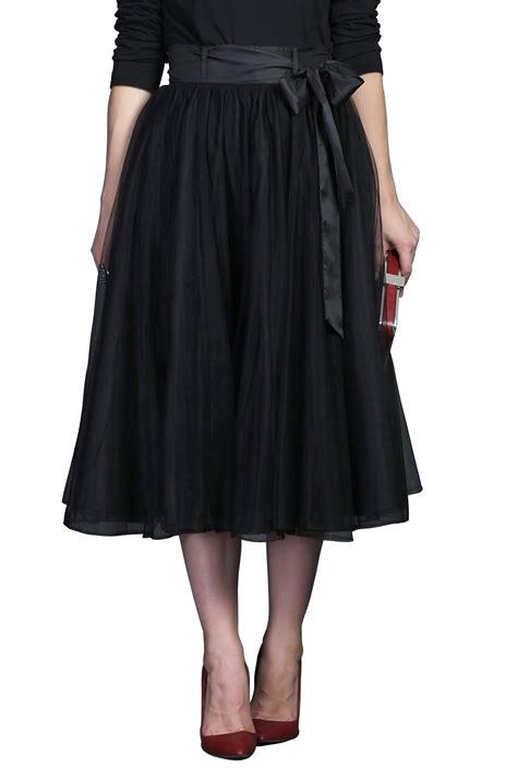 mesh crinoline skirts underlayer fall skirts shop womens