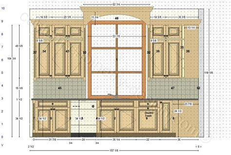 Cabinetry Floor Plan Elevations Design Layouts To Build Build Your Own Kitchen Cabinets Free Plans