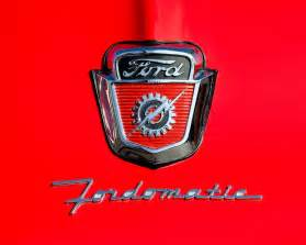 1950 s ford f 100 fordomatic truck emblems