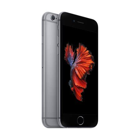 talk apple iphone 6s prepaid smartphone with 32gb space gray walmart
