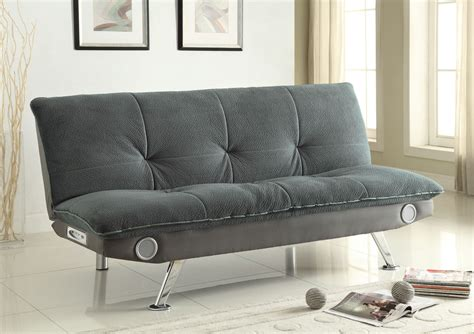 braxton grey sofa bed from coaster 500046 coleman