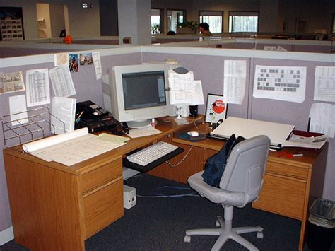 Office Space Knocking Cubicle The Loss Of A Friend So You A