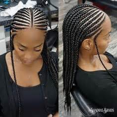 nigerian straight back braids styles pics perfect for vacation 2rows braiding hairstyles