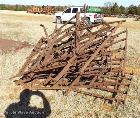 approximately 6 harrow sections for sale guthrie ok