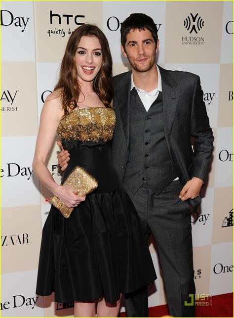 hathaway one day premiere with jim sturgess hathaway one day premiere with jim sturgess