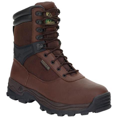 steel toe waterproof work boots s rocky 174 rebel waterproof steel toe work boots