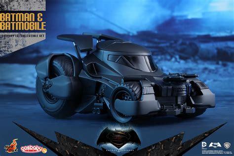 Toys Cosbaby Batman Batmobile Batman V Superman batman and batmobile cosbaby set by toys the toyark news