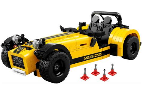 caterham seven 620r officially recreated by lego autocar