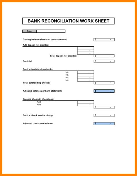 account reconciliation template sle balance sheet reconciliation pictures to pin on