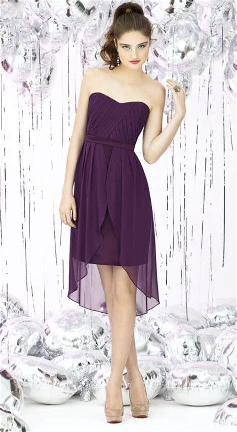 Fashion Dress Ds Hi Gd1916 dessy social 8120 nu georgette hi low bridesmaid dress