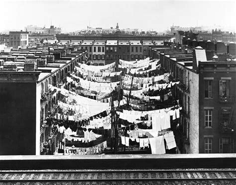 tenement housing tenement housing laundry photograph by underwood archives