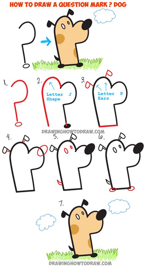 Drawing Lessons For by How To Draw A From A Question Simple