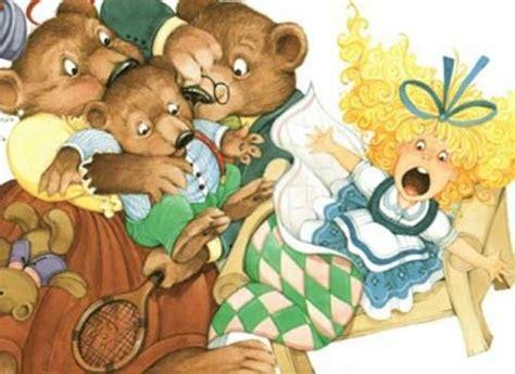 قصص اطفال قصيرة قصة الفتاة والدببة الثلاثة سحر الكون