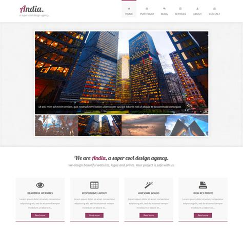bootstrap feed template responsive bootstrap portfolio template templates