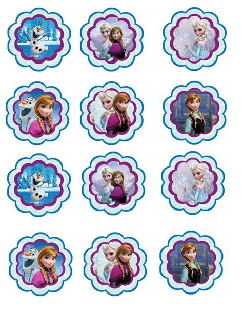 printable frozen toppers frozen free printable toppers is it for parties is it