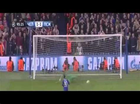 film ggs tadi malam youtube video chelsea vs psg 2 2 cuplikan gol liga chions 2015